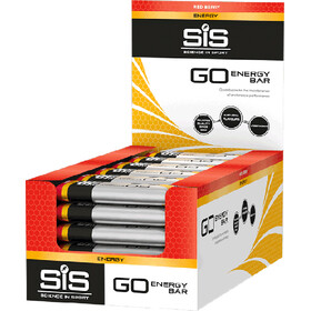 SiS GO Energy Bar Box 30x40g, Red Berry